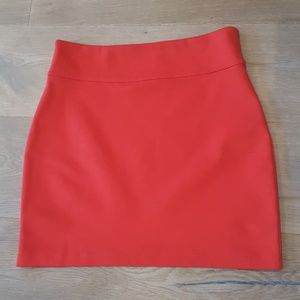 Anthropologie Skirts - Silence + Noise Red Fitted Skirt